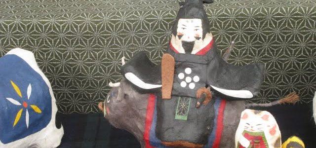 張り子の人形